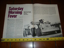 MALIBU GRAND PRIX - ORIGINAL 1986 ARTICLE