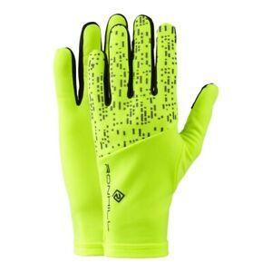Ronhill Night Runner Glove - Fluro Yellow