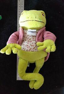 Peter Rabbit Plush soft toy toad Jeremy Fisher 25cm GUC 2004 stuffed kids story