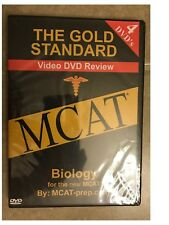 The Gold Standard Video MCAT Science Review on 4 DVDs: Biology 2007