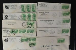 CANAL ZONE Postal History COVER LOT #8 - 30+ 1c 25th Ann Issue Covers $$$