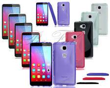 Étuis, housses et coques noirs Huawei GR5 pour téléphone mobile et assistant personnel (PDA) Huawei