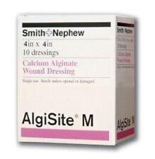 """AlgiSite M Calcium Alginate Dressing 4"""" x 4"""", 10 Ct (9 Pack)"""