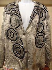 Parsley & Sage Glamorous 2 Button  Women's Blazer Top XL