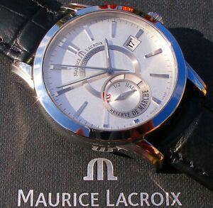 """Sportlich-elegante Maurice Lacroix - PONTOS """"Réserve de Marche"""""""