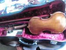 Violino 4-4 liuteria Germania fine 1800' con custodia