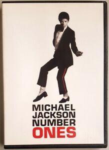 Michael Jackson - Number Ones (DVD, 2003) 15 Songs (Region 2/3/4/5/6)