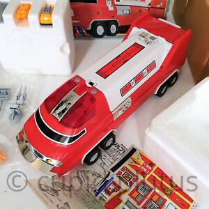 "Vintage 1991 Bandai Solbrain Solid States I DX 16"" Super Rescue Vehicle Japan"