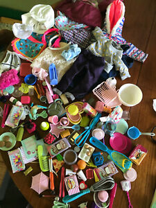 """Battat Our Generation 18"""" girl doll size clothes accessories huge lot american"""