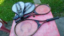 Lote 2 Raqueta de Tenis gauthier Mid Tamaño G.11 con Cubierta L 3