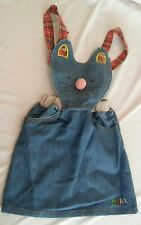 The Child Laughed Jean Skirt Jumper Hello Kitty Sz 5/6