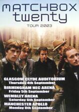 MATCHBOX TWENTY POSTER UK TOUR 2003