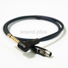 """2.5Ft Mono 1/4"""" to 4pin TA4F Replacement Cable Shure Bodypack Relay G50 G55 G90"""