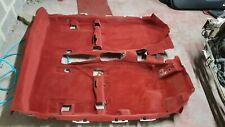 2001 Honda Integra type r DC5 Interior Carpet Floor Carpet RED