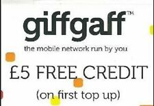 Free £5 credit with GifGaff
