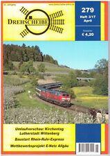 Drehscheibe Apr 2017, Issue 279 DB Deutsche Bahn