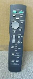 NEC RP-109 Genuine Original Plasma Monitor Projector Remote Control