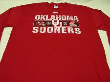 OKLAHOMA SOONERS - NCAA/FBS/BIG 12/BOWL GAME - LONG SLEEVE LARGE SIZE T SHIRT!