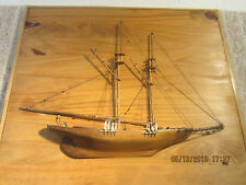 Maritime, Wall Decor, Half Model Clipper Ship