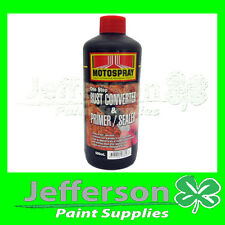 RUST CONVERTER & PRIMER SEALER 500ML STEEL GAL ALUM AUTOMOTIVE HICHEM MOTOSPRAY