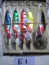 5x 16G SALMONE MIX COLORI spinnex esche da pesca trota luccio pesce persico Chubb aringhe