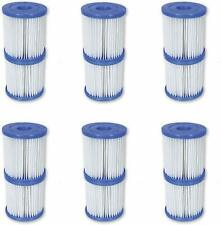 BESTWAY COLEMAN POOL I FILTER 330 PUMP REPLACEMENT CARTRIDGE 12 PACK 58093