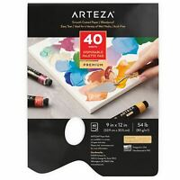 "Arteza Disposable Palette Pad, 9"" x 12"", 40 Sheets"