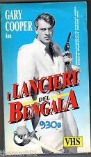 I lancieri del Bengala (1935) VHS Gli Intramontabili USA Video -   rara in VHS