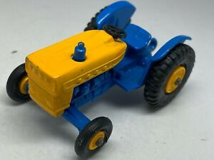 Matchbox Lesney No 49 Blue & Yellow Ford Tractor - VNM