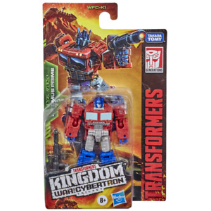 Transformers Kingdom War for Cybertron Trilogy Optimus Prime *New**Sealed*