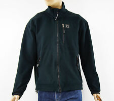 HAGLOFS Windstopper Mens Dark Blue Fleece Jacket Coat Size L