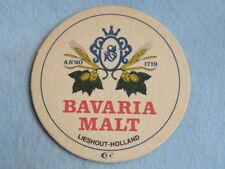 Vintage Beer Bar Coaster ~ BAVARIA BIER ~*~ Lieshout, Holland ~ Koudhoudplaatje