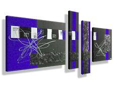 MK1 Art Imagen Lienzo Abstracto Cuadro Arte Pintura moderno Imágenes azul XXL