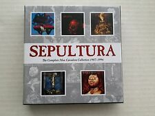 SEPULTURA -THE COMPLETE MAX CAVALERA COLLECTION 1987-1996 5 X CD NEW & SEALED