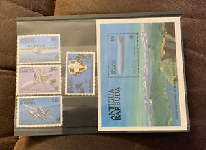Antigua & Barbuda Stamps  200th Anniversary Of Manned Balloon Flight MNH