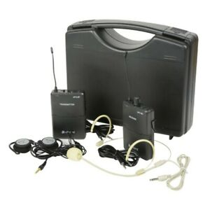 UP2-SET Portable UHF Wireless System 2 Channel