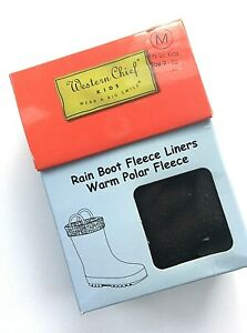 Western Chief kids Rain Boot Liners Black