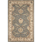 India House Oasis Blue 5 Ft. X 8 Ft. Global Traditional Area Rug