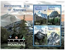 MODERN GEMS - Maldives - Year Of Mountains - Sheet Of 4 - MNH