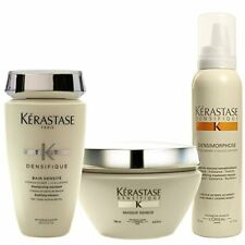 Kerastase Densifique Bain Densite,8.5oz&Masque Densite,6.8oz &Densimorphose5.1oz