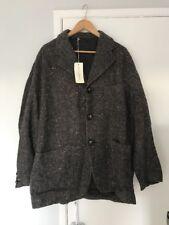 """DOLCE and Gabbana Blazer Suit cappotto taglia 50 56"""" C Marrone A113/Pesce NUOVO CON ETICHETTE"""