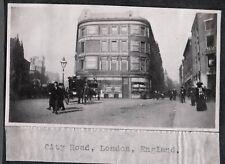 2 VINTAGE PHOTOGRAPHS 1900'S LIVERPOOL LONDON ENGLAND UNITED KINGDOM OLD PHOTOS