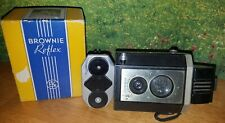 1940s Kodak Brownie Reflex Synchro Camera in original Box  Uses 127 Film