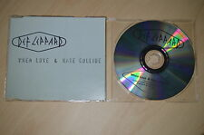 Def Leppard - When love & hate collide. CD-Single (CP1708)