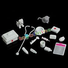 Enfants Équipement Médical Docteur Jouet Ensemble Kit Cadeau Pour Barbie poupée