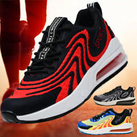 Men's Air Cushion Running Sneakers Casual Sports Tennis Shoes Breathable Walking