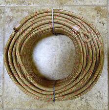 "3/8"" x 115 ft. Dacron/Spectra Halyard,Spliced in 1 inch Flemish Eye-Brassy Gold"