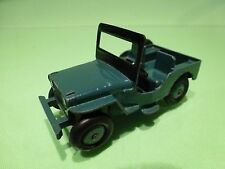 DINKY TOYS  1:43 - MILITARY ARMY JEEP  NO= 405  - GOOD CONDITION