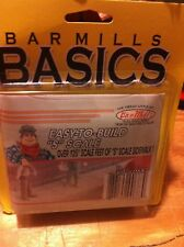 Bar Mills S Scale 0683 Easy To Build S Scale Sidewalks 125 Scale Feet