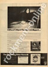 Clifford T.Ward Home Thoughts Peter Hammill Chameleon In Shadow Advert 2/6/73